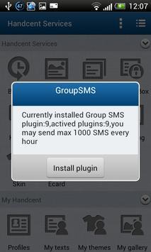 Handcent GroupSMS Plugin 18 apk screenshot
