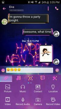 Handcent Skin (New year 2016) apk screenshot