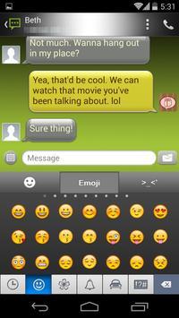 Handcent 6 Skin Android apk screenshot