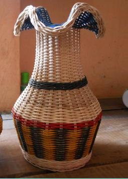 Handicrafts From Rattan poster