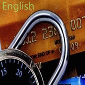 Credit card +++ (English) icon