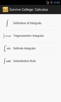 Survive Calculus apk screenshot