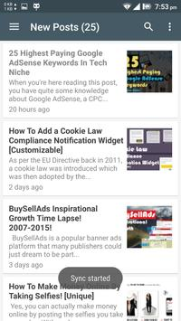 BloggingeHow Android App poster