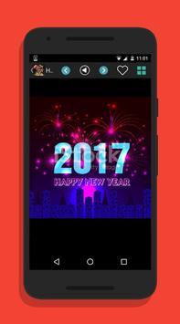happy new year 2017 wallpaper apk screenshot