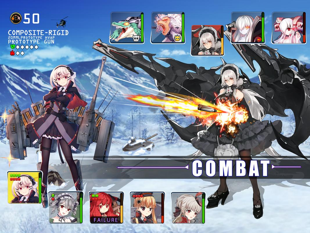 Top Japanese Pc Games : Panzer waltz best anime game apk download free role