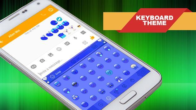 Keyboard Themes Emoji Tips apk screenshot
