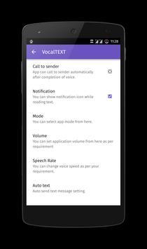 VocalTEXT apk screenshot