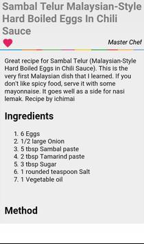Hard Boiled Egg Recipes apk screenshot