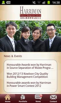Harriman Property Management poster
