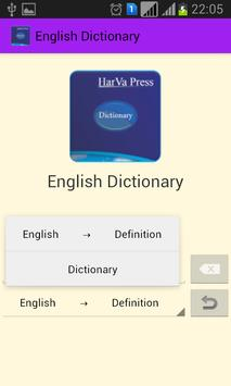 English Dictionary apk screenshot