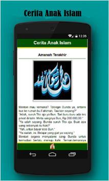 Cerita Anak Islam apk screenshot