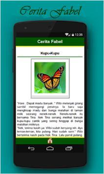 Cerita Fabel apk screenshot