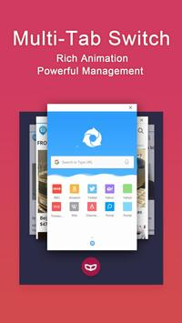Hi Browser–Incognito & Private apk screenshot