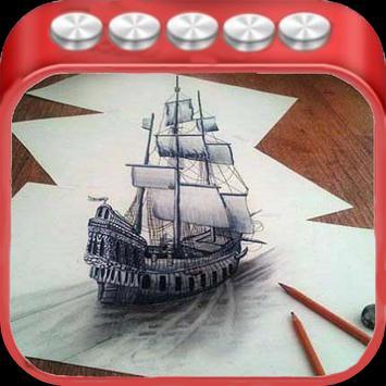 Charcoal drawings (new) apk screenshot