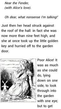 Alice Adventures in Wonderland apk screenshot