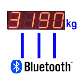 Bluetooth serial scale comm icon