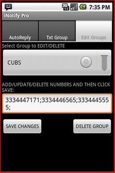 iNotify Pro - Group Txt apk screenshot