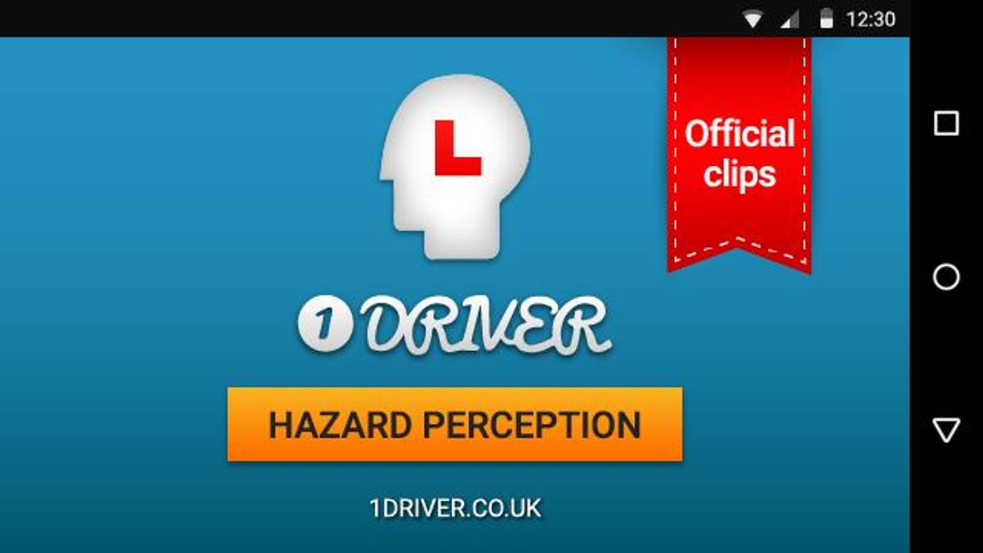 how to learn hazard perception test