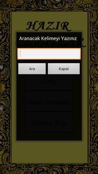 Hazır Cevaplar apk screenshot