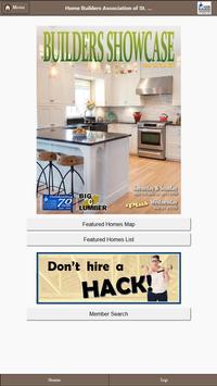 Home Builders Association poster