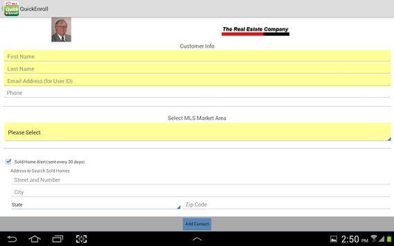 Quick Enroll apk screenshot