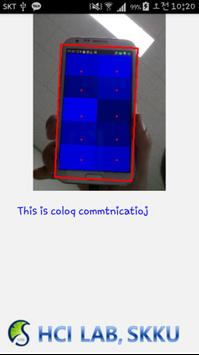 Color Communication (액정발광 통신) apk screenshot
