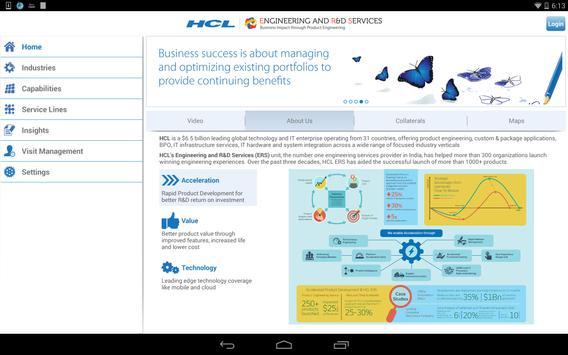 HCL ERS apk screenshot