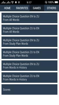 Zulu Dictionary apk screenshot