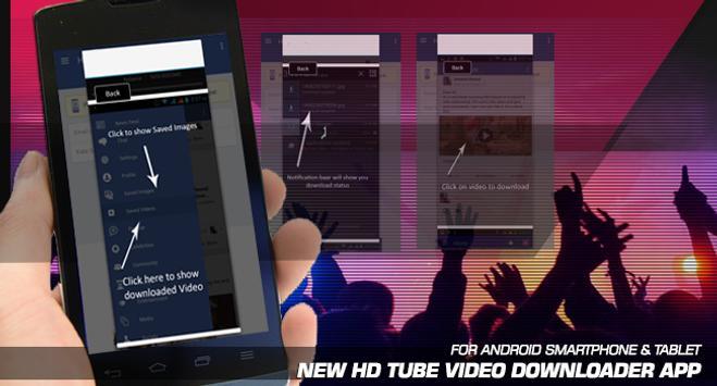 HD Tube Video Downloader apk screenshot