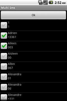 Multi SmsSender 2 apk screenshot
