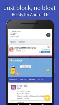 Headuck Call Blocker DEV (HK) poster