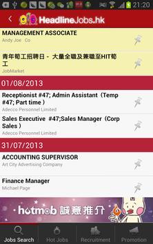 HeadlineJobs 頭條搵工 apk screenshot