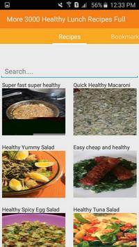 Healthy Lunch Recipes Full apk screenshot