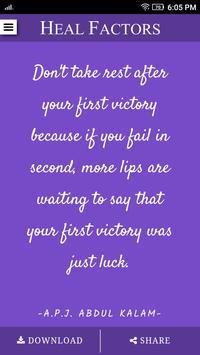 Wisdom Quotes - Heal Factors poster