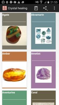 Healing stones(crystaltherapy) poster