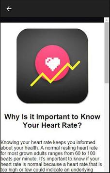 Heart Rate Graph Checker apk screenshot