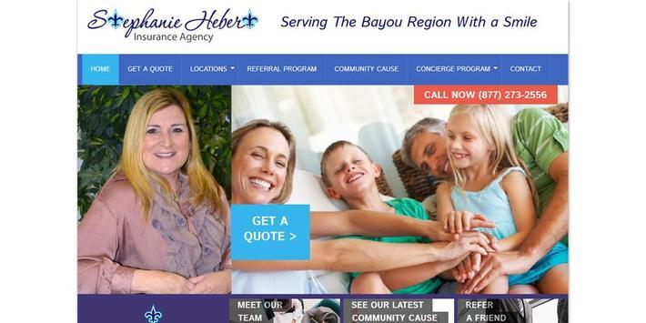 Hebert Insurance Agency poster