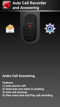 Auto Call Recorder & Answering poster