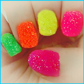 art of nail decoration icon