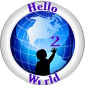 Hello2World icon