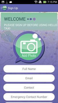 Hello Teksi - Passenger apk screenshot