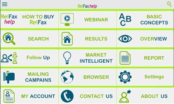 Reifax Help apk screenshot