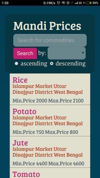 Mandi Prices apk screenshot