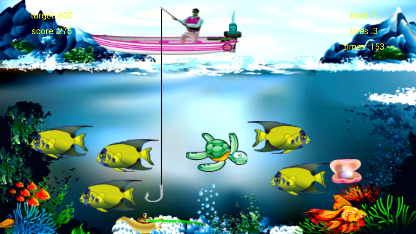 Catch fish and mermaid apk download free action game for for Fish catching games