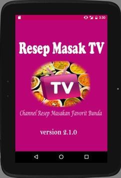 Resep Masak TV apk screenshot