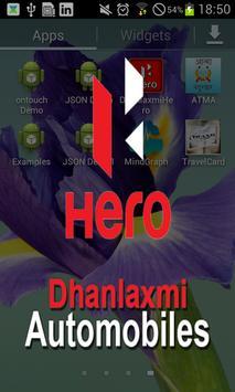 Dhanlaxmi Hero poster