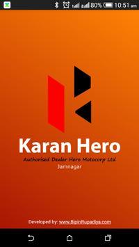Karan Hero poster