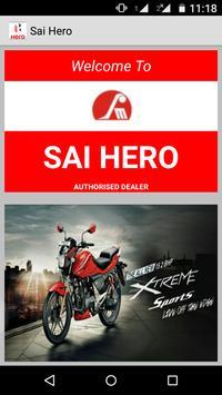 Sai Hero- Hero MotoCorp Dealer poster