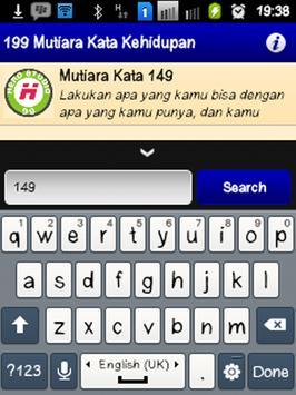 199 Mutiara Kata Kehidupan apk screenshot