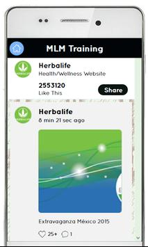 Training For Herbalife MLM apk screenshot